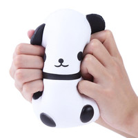 Jumbo Cute Panda Kids Toys Kawaii Doll Cream Scented Slow Rising Squishies Fun Collection Stress Relief