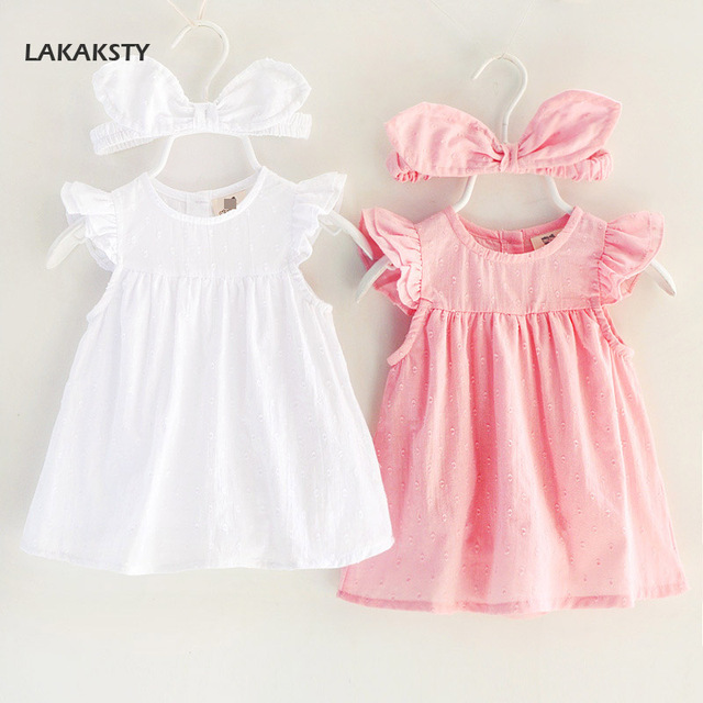 6b5983a80a9d Newborn Baby Clothes Thin Cotton Rompers Dress Summer Girls Clothing ...