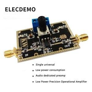 Image 2 - Opa1611 módulo de baixa potência precisão amplificador operacional amplificador de áudio pré amplificador op amp board