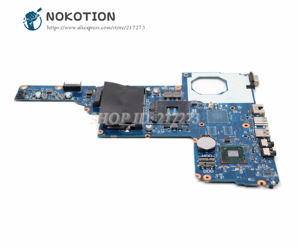 NOKOTION 685783-001 685783-501 For HP 450 1000 2000 CQ45 Laptop Motherboard 6050A2493101-MB-A02  HM70 DDR3