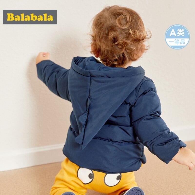 Balabala infantile bébé garçon 3D dinosaure léger doudoune avec Zip nouveau-né Babys à capuche doudoune avec poche Satin doublé - 3