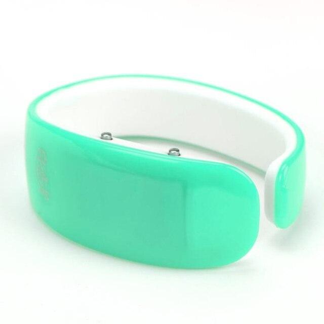 Fashion 1PC Fashion Women Rubber LED Watch Date Sports Bracelet Digital Wrist Watch Luxury crystal Casual Bracelet Watches Women