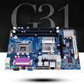 Nuevo para intel g31 placa base 771 placa base de 775 pines ddr2 4g
