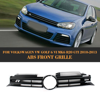 High Quality ABS Car Mesh Grill For Golf VI R20 Design Grill