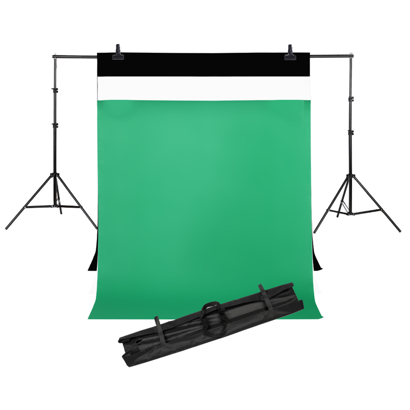 2MX2M Backdrops Frame Background Support System Photography Studio Background Holder Camera & Photo Accessories + Carry Bag easter day basket branch bunny photo studio background easter photography backdrops page 2