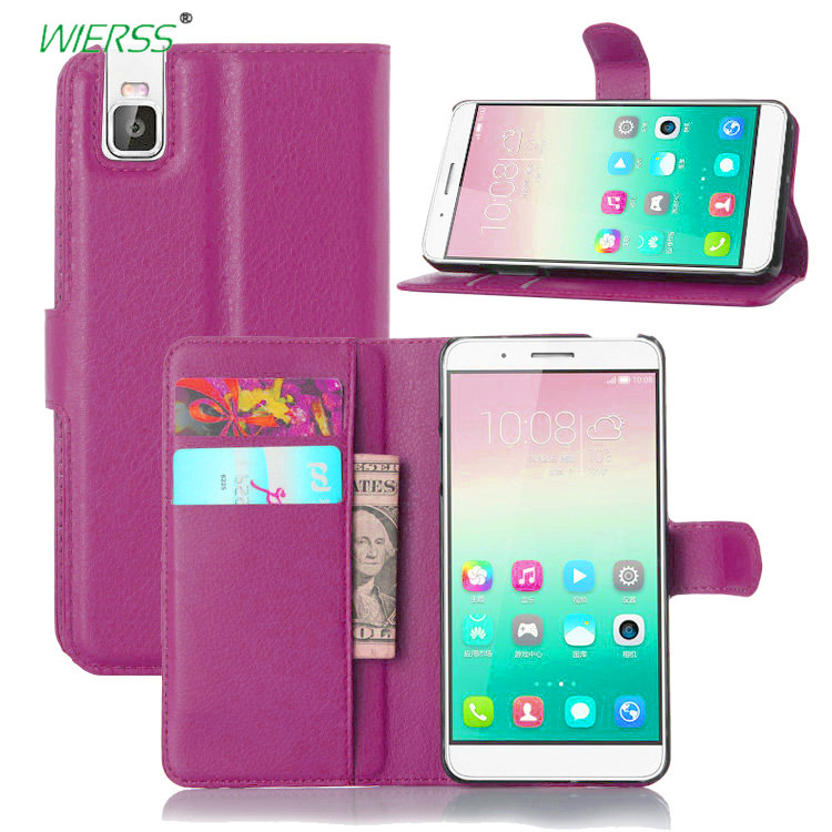 For Huawei Honor 7i Wallet Flip Leather Case For Huawei Honor 7i ...
