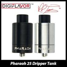 Proyecto RiP Original Digiflavor Faraón 25 Tanque de 2 ml Gotero Atomizador e-cig Tanque con Anti-escupir de Nuevo Punta de goteo y Control de Flujo de aire