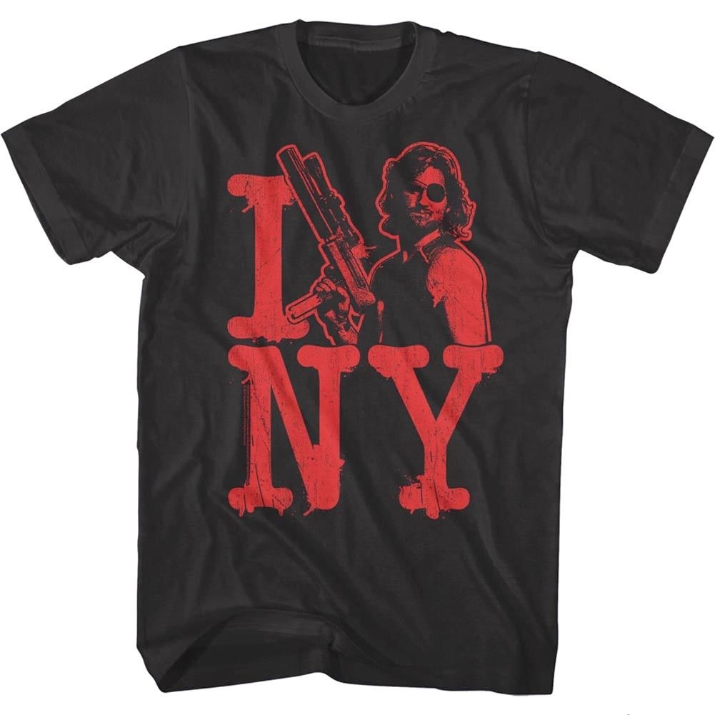 Escape From New York <font><b>I</b></font> <font><b>Love</b></font> <font><b>NY</b></font> Men's T <font><b>Shirt</b></font> Snake Plissken Kurt Russell Action Men'S T-<font><b>Shirts</b></font> image