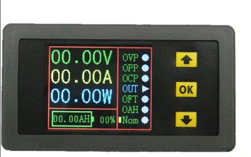 New Multifunction Wireless DC Voltmeter Ammeter Power Meter 0-120V 100A + Shunt dc 100a analog ammeter panel amp current meter 85c1 gauge 0 100a dc shunt