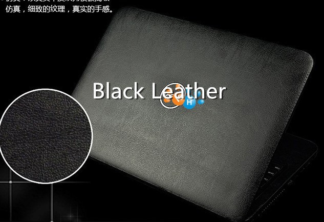 Ноутбук углеродного волокна виниловая кожа наклейка крышка для ASUS G73 G73JW G73JH G73SW 17,3-дюймов - Цвет: Black leather