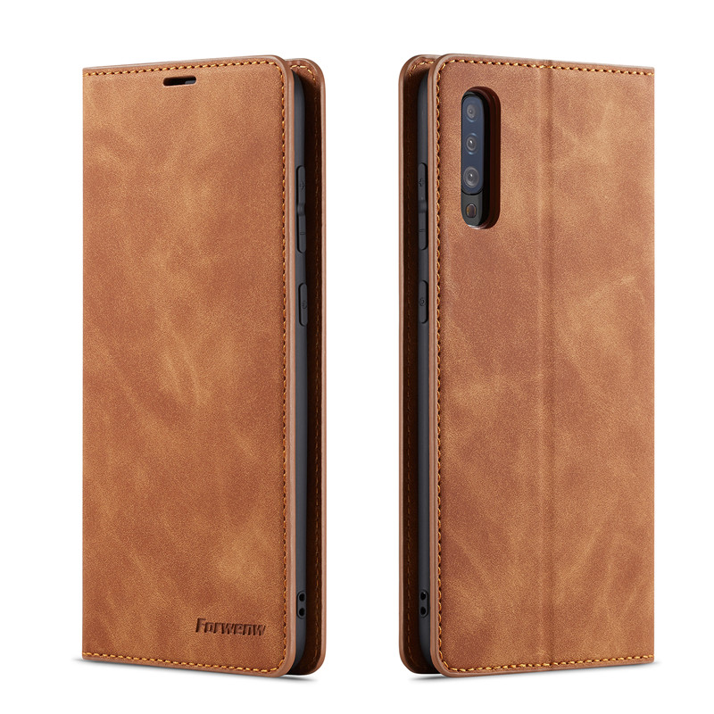 HTB1UXzea2WG3KVjSZFgq6zTspXaO Luxury Leather A50 A51 A71 Case For Samsung Galaxy A70 A51 A40 A30 A20 A20E A10 M10 Strong Magnetic Wallet Flip Card Slots Cover