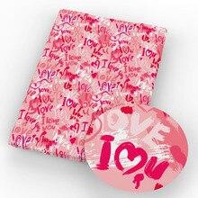 Handmade-Materials Heart Cotton-Fabric Tissue DIY Cartoon Flower for Kids Home-Textile