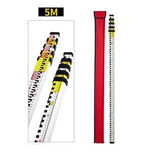 Image 5 - Niveau Laser rotatif à nivellement automatique rouge/vert de 500M, haute précision + règle de tour et trépied