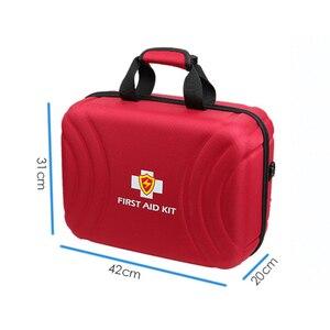 Image 2 - Große Kapazität Wasserdichte Emergency First Aid Kit Leere Tasche Überleben Kits Medizinische Rettungs Reise Trocken Taschen Outdoor Camping