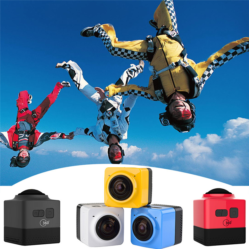 ФОТО SOOCOO 360 Degree Action Video Camera Wifi 4k 24FPS 2.7k 30FPS Ultra HD Sport Driving 360 Camera with remote control
