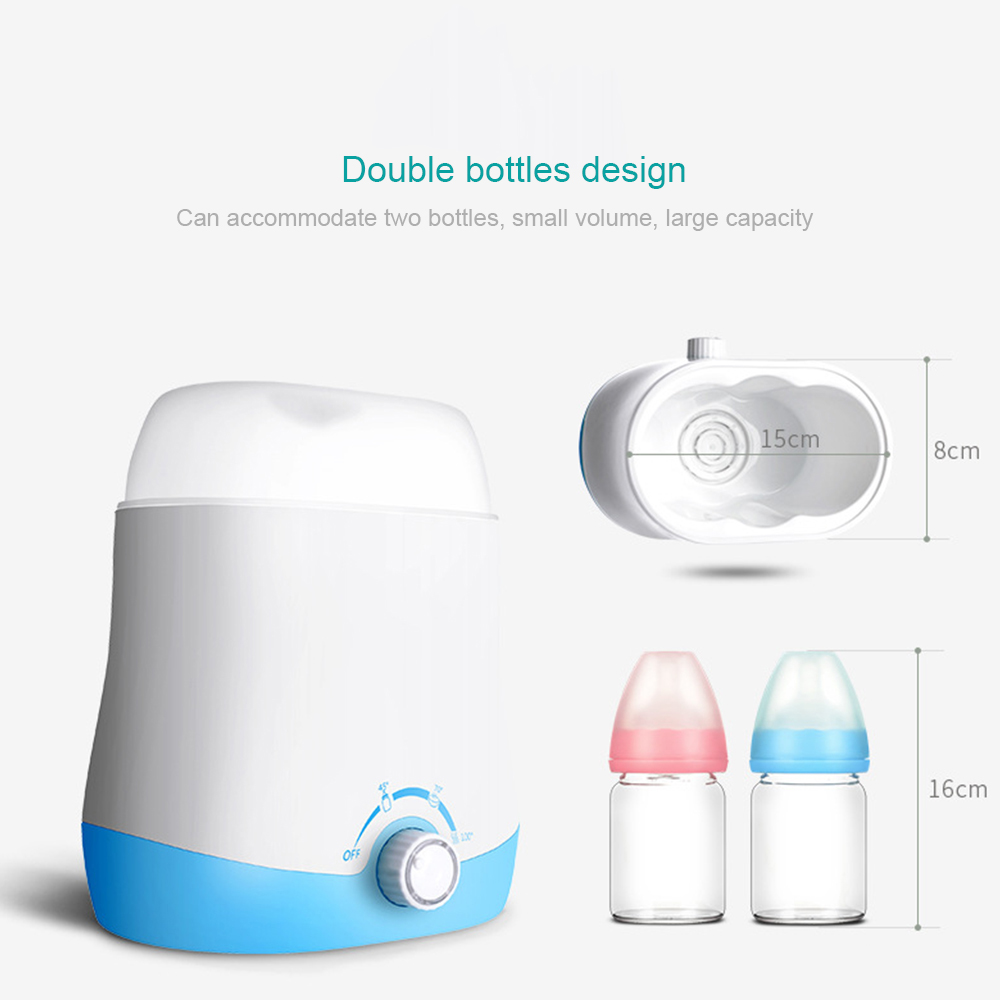 220V Electric Bottle Warmer Milk Food Heater Steam Sterilizer Thermostat Automatic Heating Bottle Warmer ...