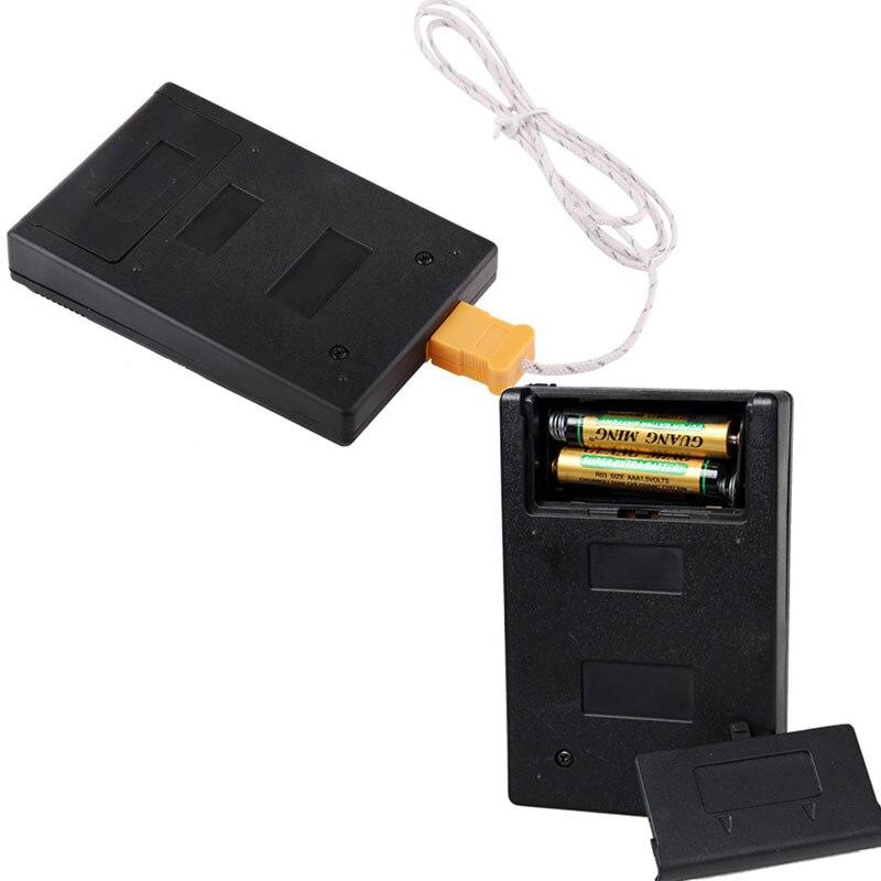 Rilevatore di temperatura industriale elettronico LCD Rivelatore di - Strumenti di misura - Fotografia 6