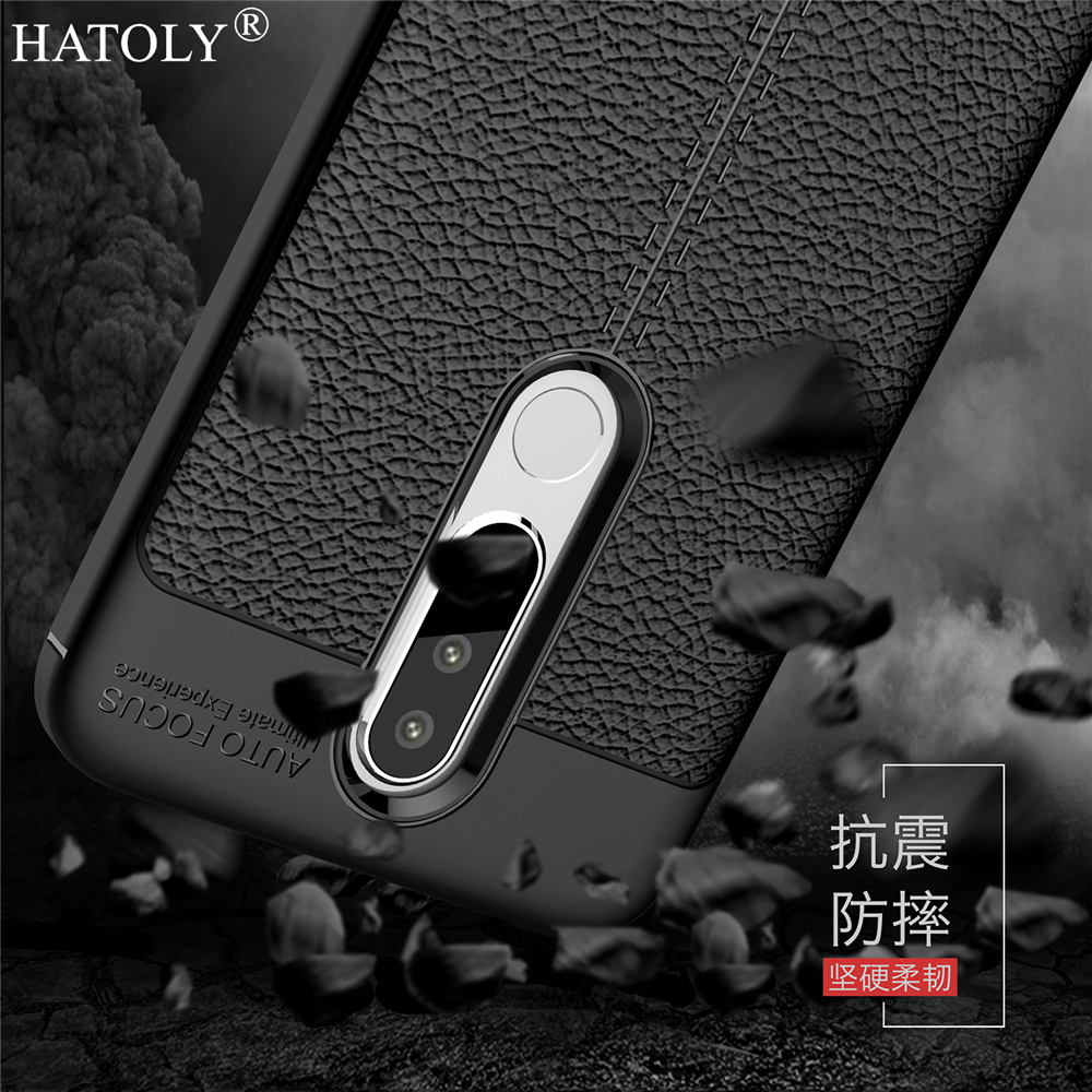For Cover Nokia 5.1 Plus Case Rubber Silicone Shell Bumper Soft Phone Case Cover for Nokia 5.1 Plus Case for Nokia 5.1 Plus X5
