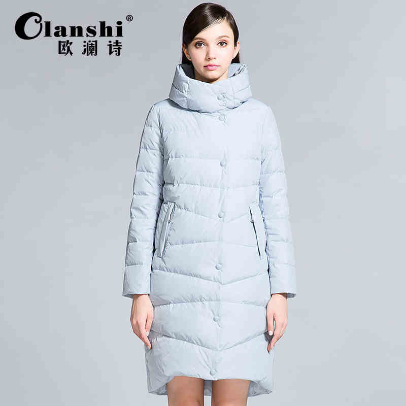 2015 New Hot winter Thicken Warm Cold Woman Down jacket Coat Parkas Outerwear Hooded Luxury long Plus Size XL Straight Leisure