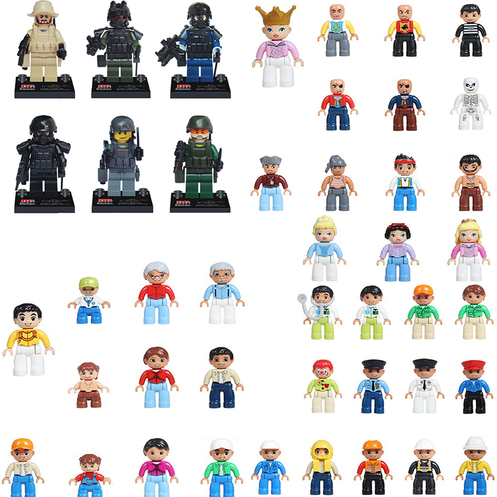 Duplo Original Classic figure Big Building Blocks baby toys for children lepin building bricks kid Gift Brinquedos naruto marvel lepin 631pcs city police station kazi 6725 building blocks action figure baby toys children building bricks brinquedos kid gift