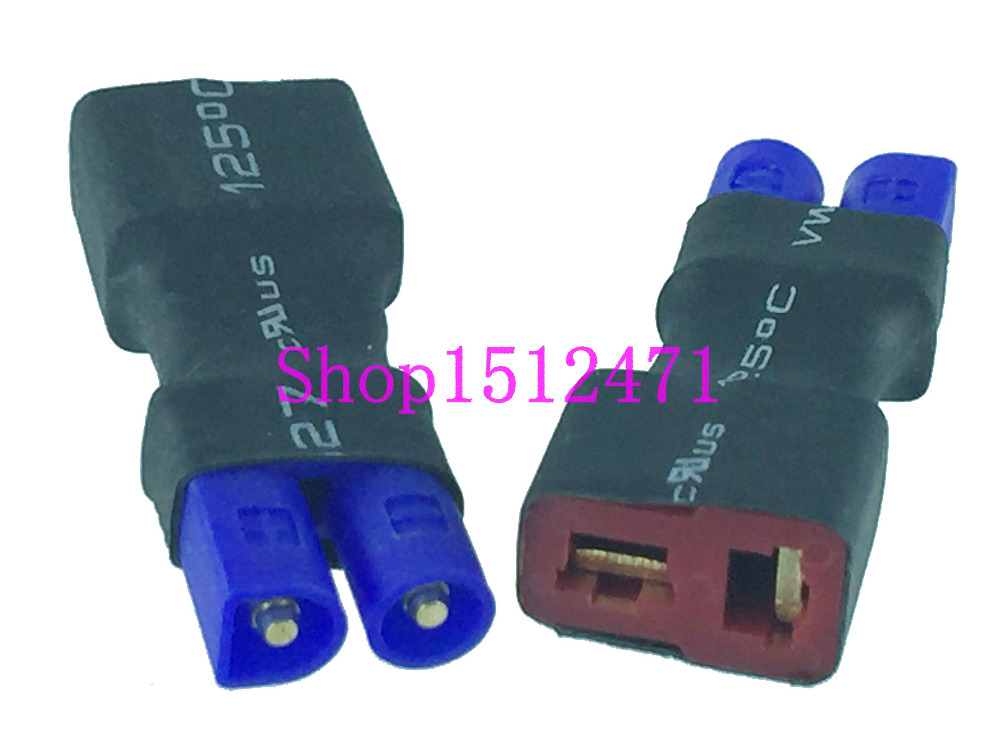 EC2 male to T-plug Deans Style female Adapter LiPo battery charger Airsoft RC