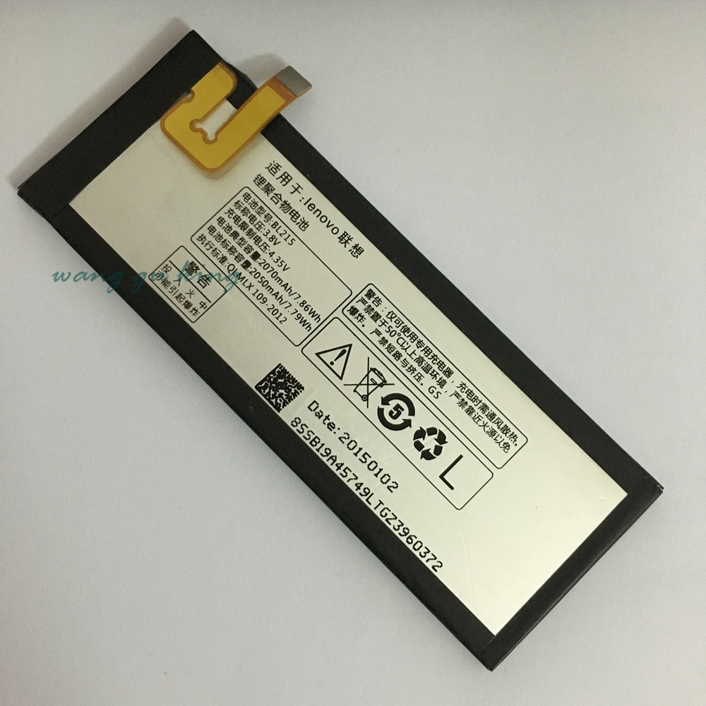 For <font><b>Lenovo</b></font> VIBE X <font><b>Battery</b></font> 100% High Quality 2070Mah BL215 <font><b>Battery</b></font> Replacement For <font><b>Lenovo</b></font> VIBE X <font><b>S960</b></font> S968T Mobile Phone+In Stock image