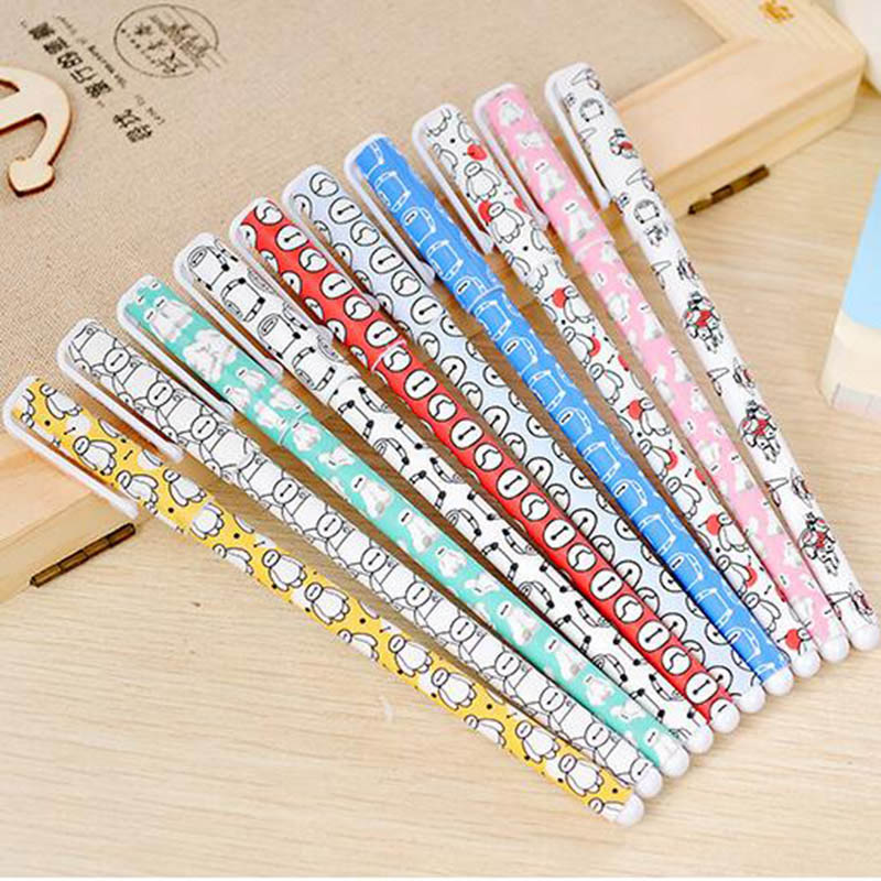 10 pcs/lot New Cute Cartoon Colorful Gel Pen Set Kawaii Korean Stationery Creative Gift School Supplies Free shipping 050 10 pcs lot new cute cartoon colorful gel pen set kawaii korean stationery creative gift school supplies