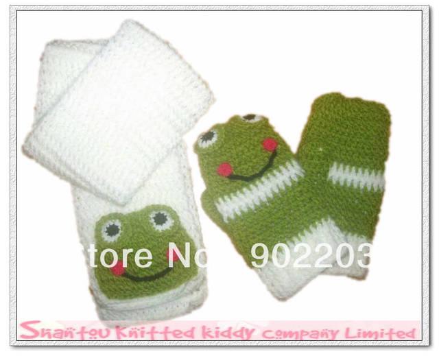 Envío gratis ( 10 set/lot ) niños crochet hilado de islandia bufanda ...
