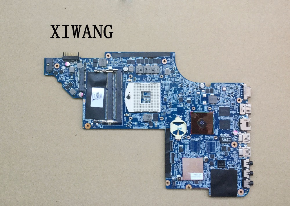 Free shipping 639389-001 mainboard for HP pavilion DV7 DV7T DV7-6000 laptop motherboard 6470M/1G 100% tested for hp dv7 6000 laptop motherboard mainboard 650852 001 tested ok
