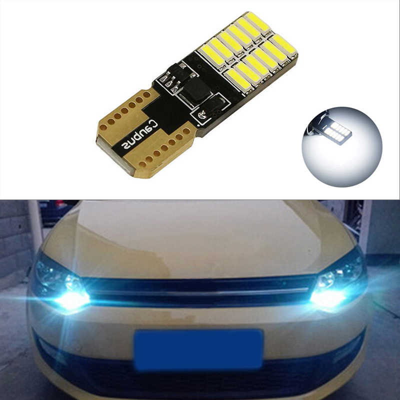 1x Canbus LED T10 W5W Clearance Parking Light Wedge Light For Volkswagen VW Polo Passat b5 b6 CC Golf 4 5 6 7 Jetta mk6 tiguan