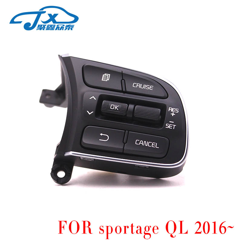 FOR Kia Sportage QL 2016 2017 Steering Wheel Cruise Control Switch Right 96720 D9010 Steering wheel cruise