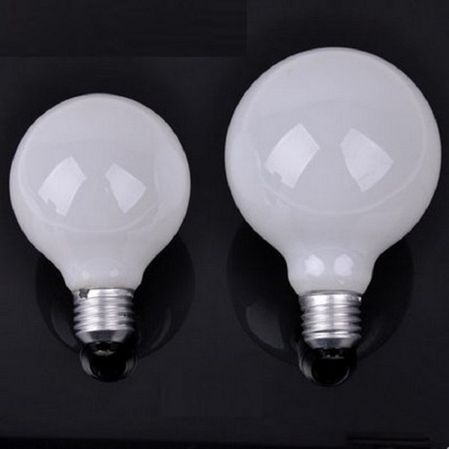 Milky G80 G95 G125 Cold White Led Ball Bulb Replacement Dragon Bulbs For