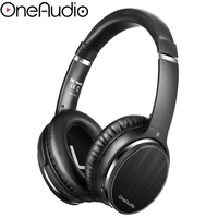 OneAudio A3 Active Noise Cancelling Headphones Bluetooth Wireless Hifi Over Ear Headset Stereo ANC Foldable Headphone With Mic