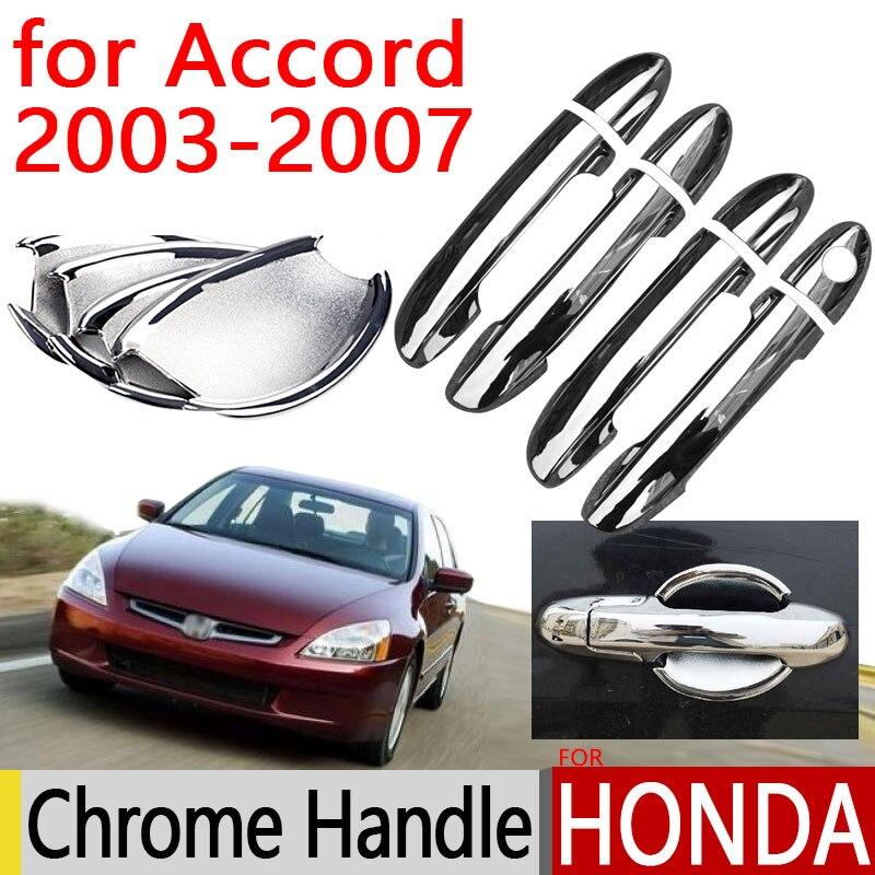 Honda Xr125l 2003 2013 Review: For Honda Accord 2003 2007 Accessories Chrome Door Handle