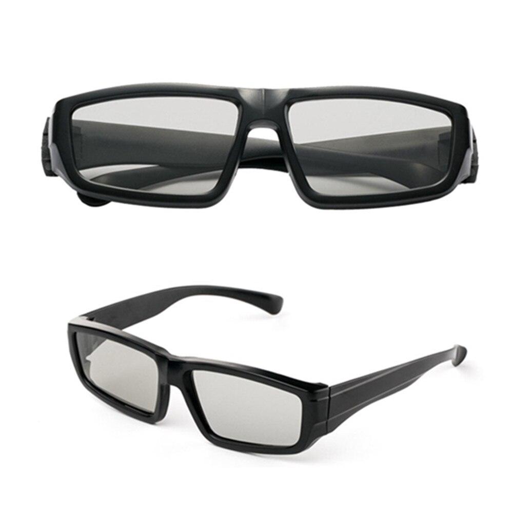 2pcs Packs HONY 3D Make Light Passive Linear Polarized 3D Glasses For IMAX Cinemas For 3D 4D 5D 6D Video Movies