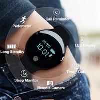 SANDA Luxury Smart Watch Men Sport Bracelet Calorie Pedometer Fitness Watches For Android IOS Phone Sleep Tracker Men SmartWatch Women Sports Watches