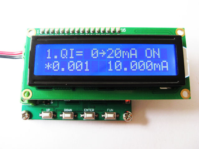 Two Output Current and Voltage Signal Generator 4-20mA/0-10V Signal Source Transmitter цена