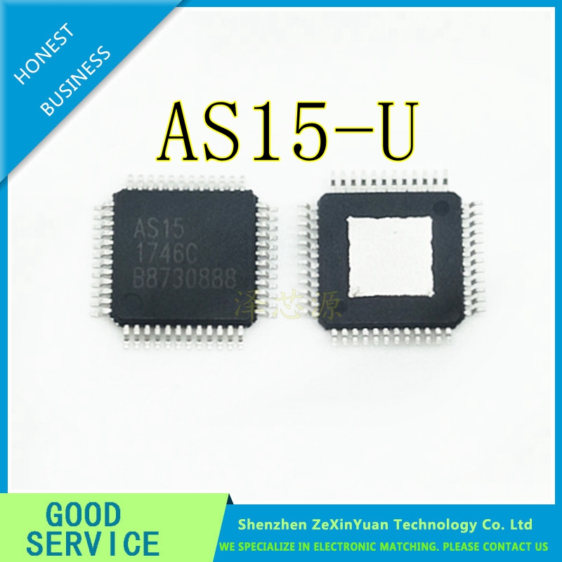10pcs AS15-G QFP48 E-CMOS ORIGINAL IC NEW