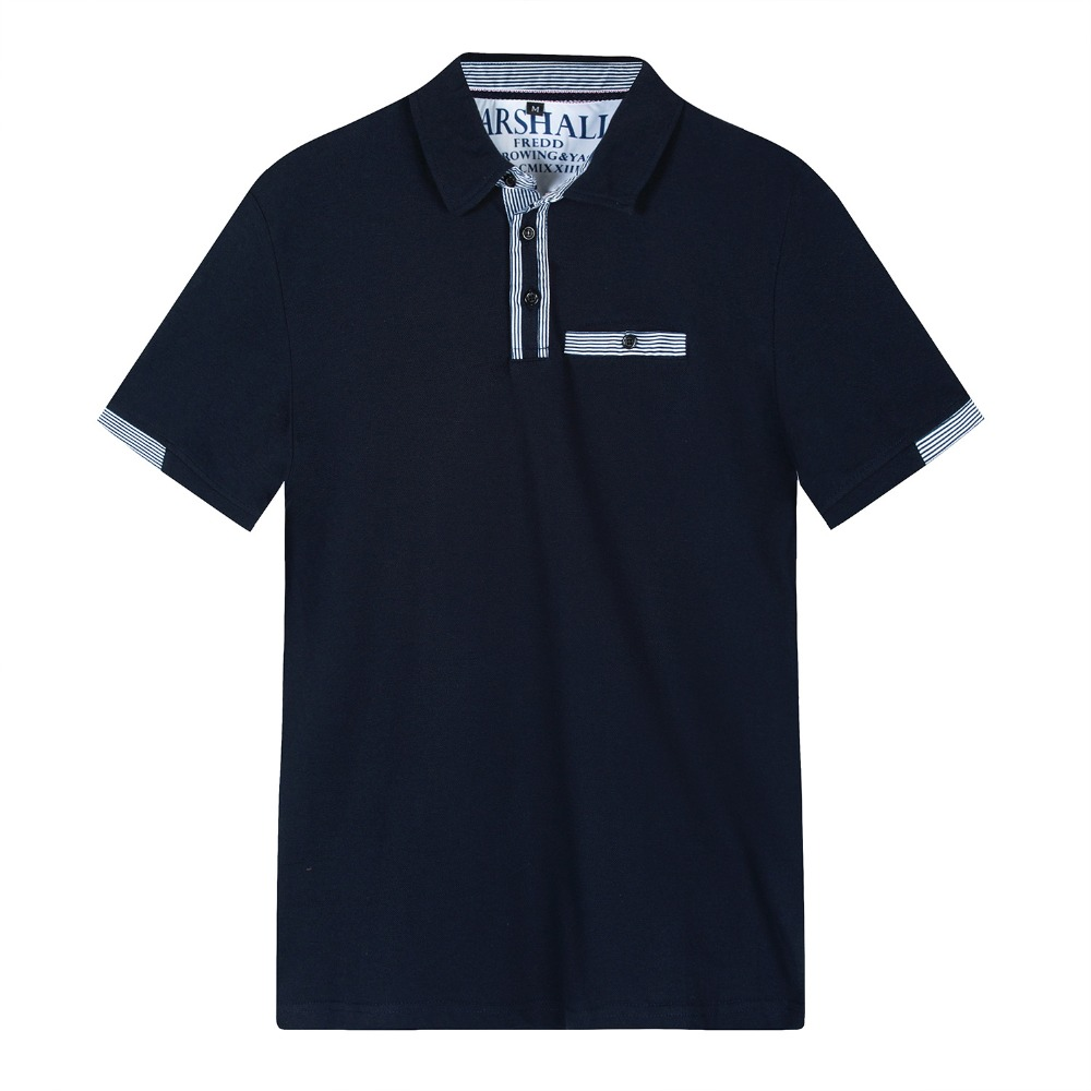 Summer 2019 high quality brand men's   Polo   shirts men leisure men's shirts with short sleeves men's cultivate one