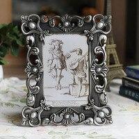 4x6 inch Classica Desk & Contatore Metallo Placcato Wedding Photo Picture Framing per Casa e Ufficio Decori MPF078