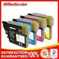 10x Совместимый Картридж для Brother LC 985 LC975 LC67 LC1100 LC980 XL Картридж для Brother DCP 185C 195C 9805C Принтера