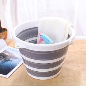 10л емкость ведро выдвижное ведро многоцелевой ведро для садоводства ванная утолщенная рыболовная машина-стиральная гаджет Прямая поставк...