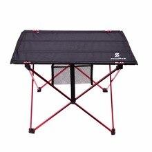 Легкий алюминиевый сплав портативный складной стол для кемпинга открытый активностей складной стол для пикника барбекю складной стол