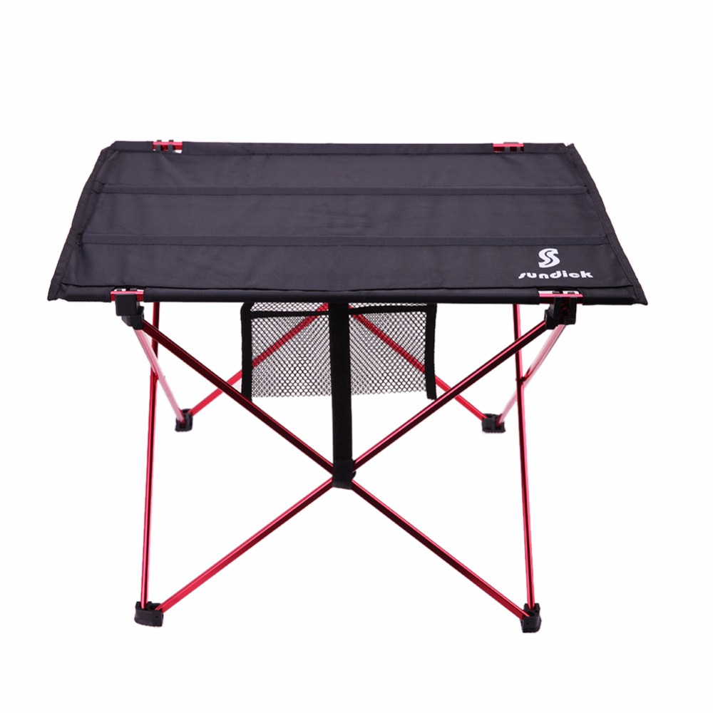 Lightweight Aluminium Alloy Portable Folding Table For Camping Outdoor Activties Foldable Picnic Barbecue Desk Folding Table