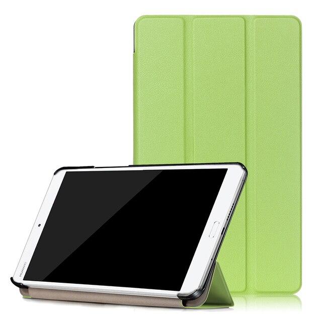 Кожа PU Смарт Дело Магнитный ультра тонкий чехол с Wake/Sleep для Huawei MediaPad M3 8.4 дюймов tablet + протектор фильм + стилус
