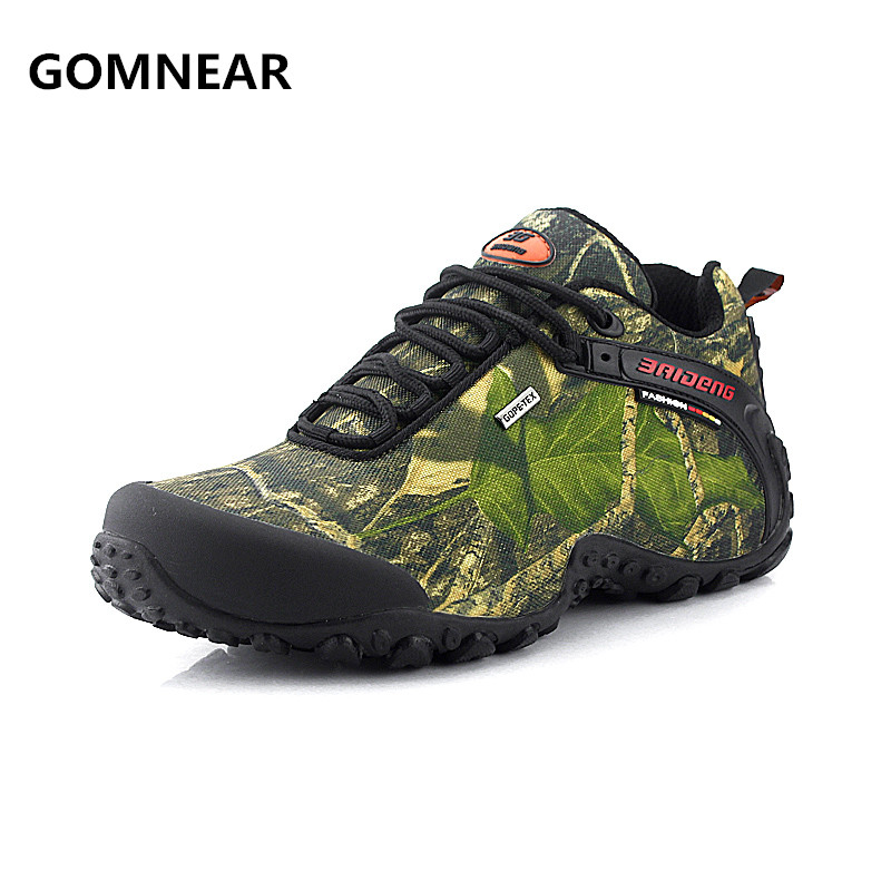 The new Arrival waterproof canvas hiking shoes Anti-skid Wear resistant breathable fishing camping climbing rubber sole shoes new hot sale children shoes comfortable breathable sneakers for boys anti skid sport running shoes wear resistant free shipping