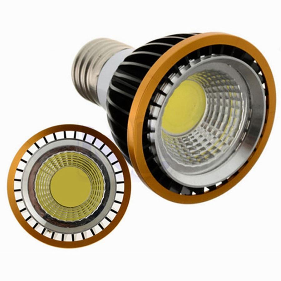 PAR20 COB 10W 15W LED Spotlight CRI>88 GU10 E27 E14 MR16 Spot Down Light display Ceiling Cabinet Showcase Bombillas Bulb CE ROHS