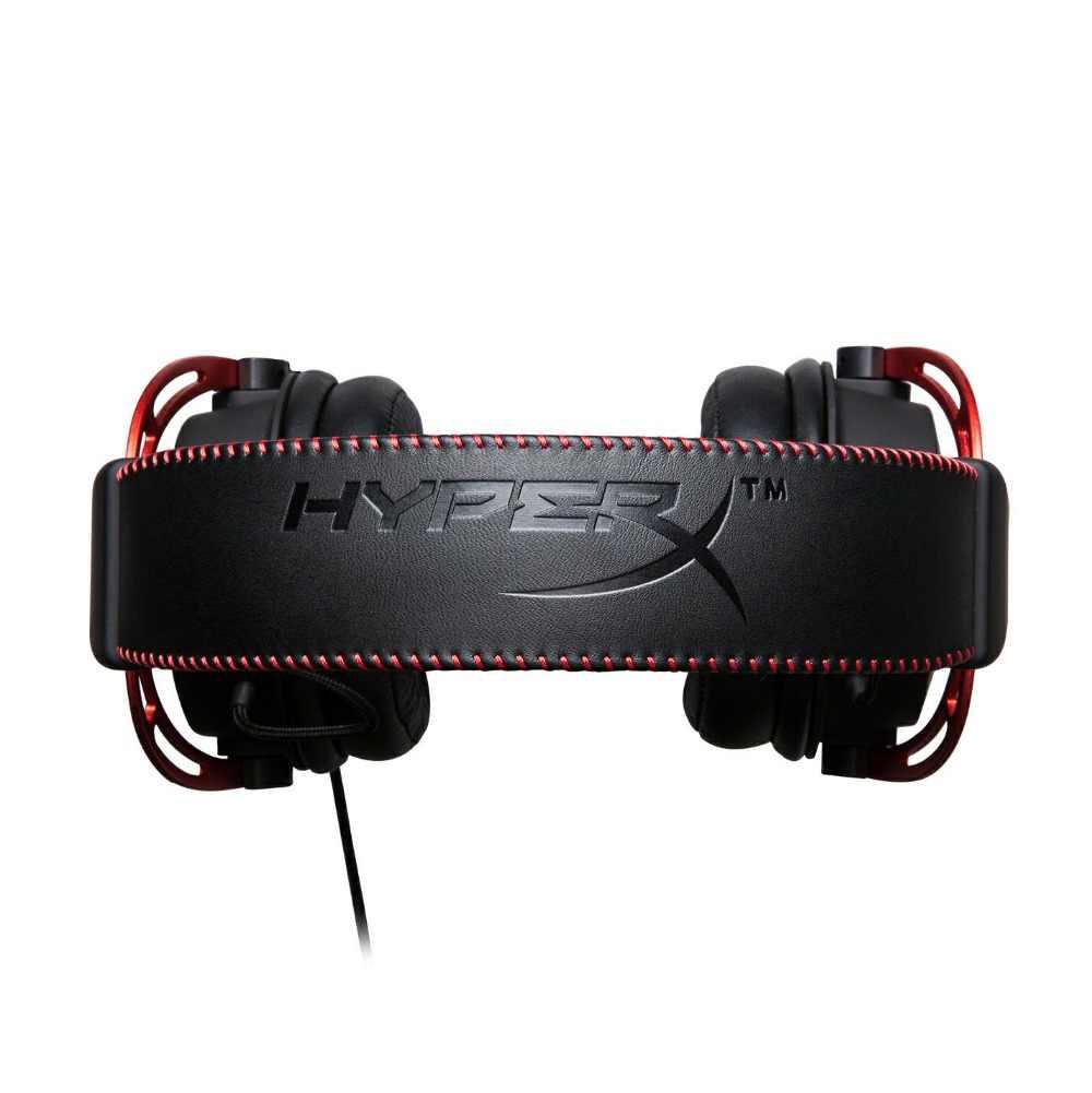 キングストン HyperX クラウドアルファゲーミングヘッドセットとマイク 3.5 ミリメートル PS4 プロ Xbox One S 携帯デバイス VR 用 pc ゲーマー
