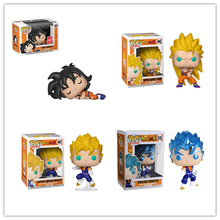 New Funko pop Amine Dragon Ball #397 Dead Yamcha GOKU SUPER SAIYAN VEGITO Action Figure Model Toys Collectible Vinyl Dolls Gift