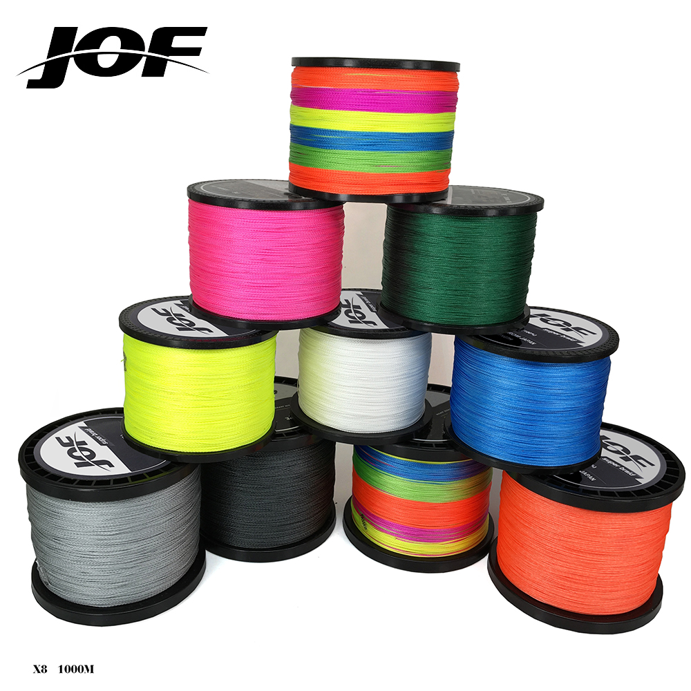 1000m Braided Fishing Line Super Power PE Fiber Line 8 Strands Multifilament Fishing Line Carp Fishing 15 20 30 40 50 60 80 LB стоимость